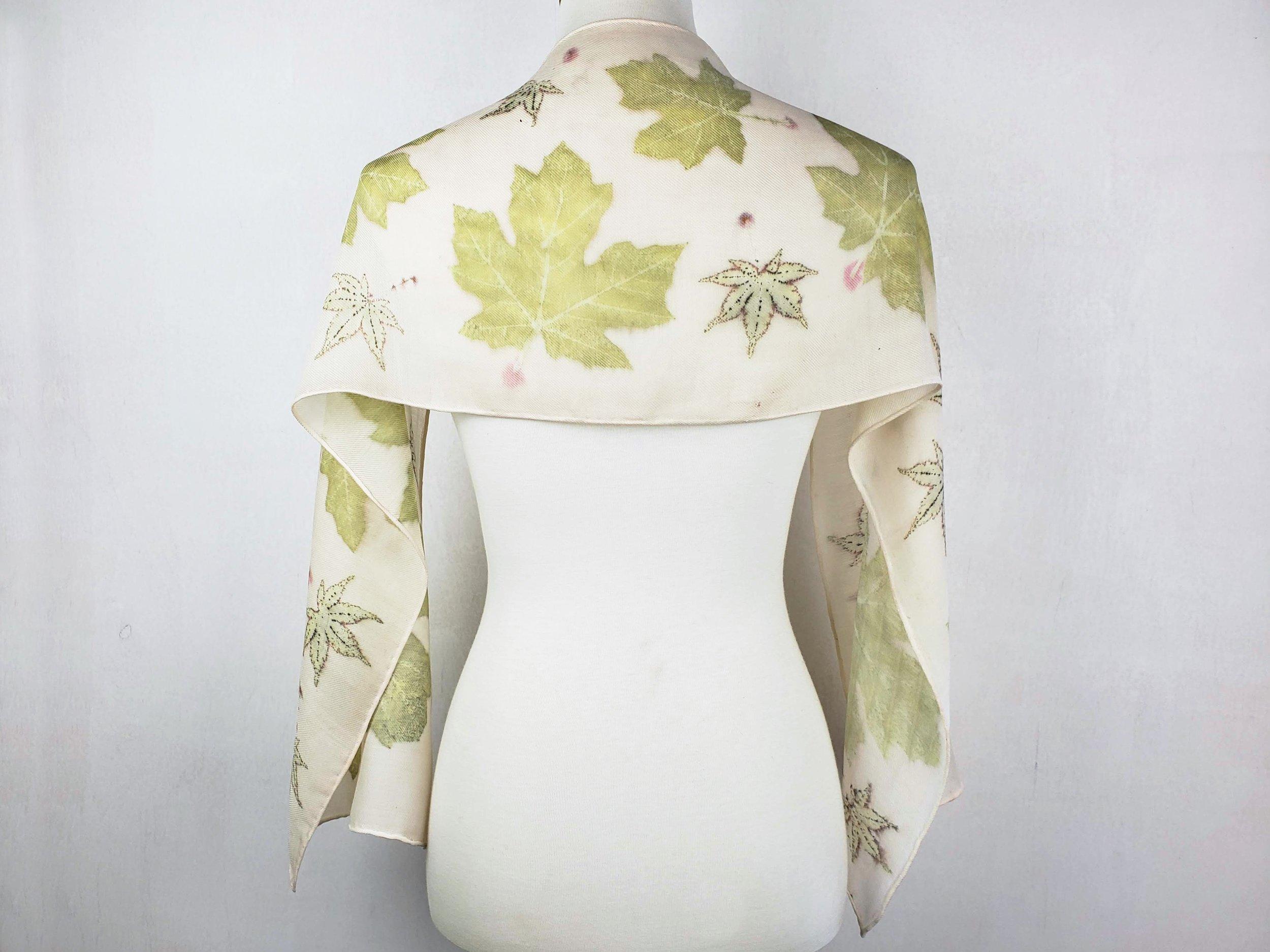 Woven Silk/Wool Blend Scarves -