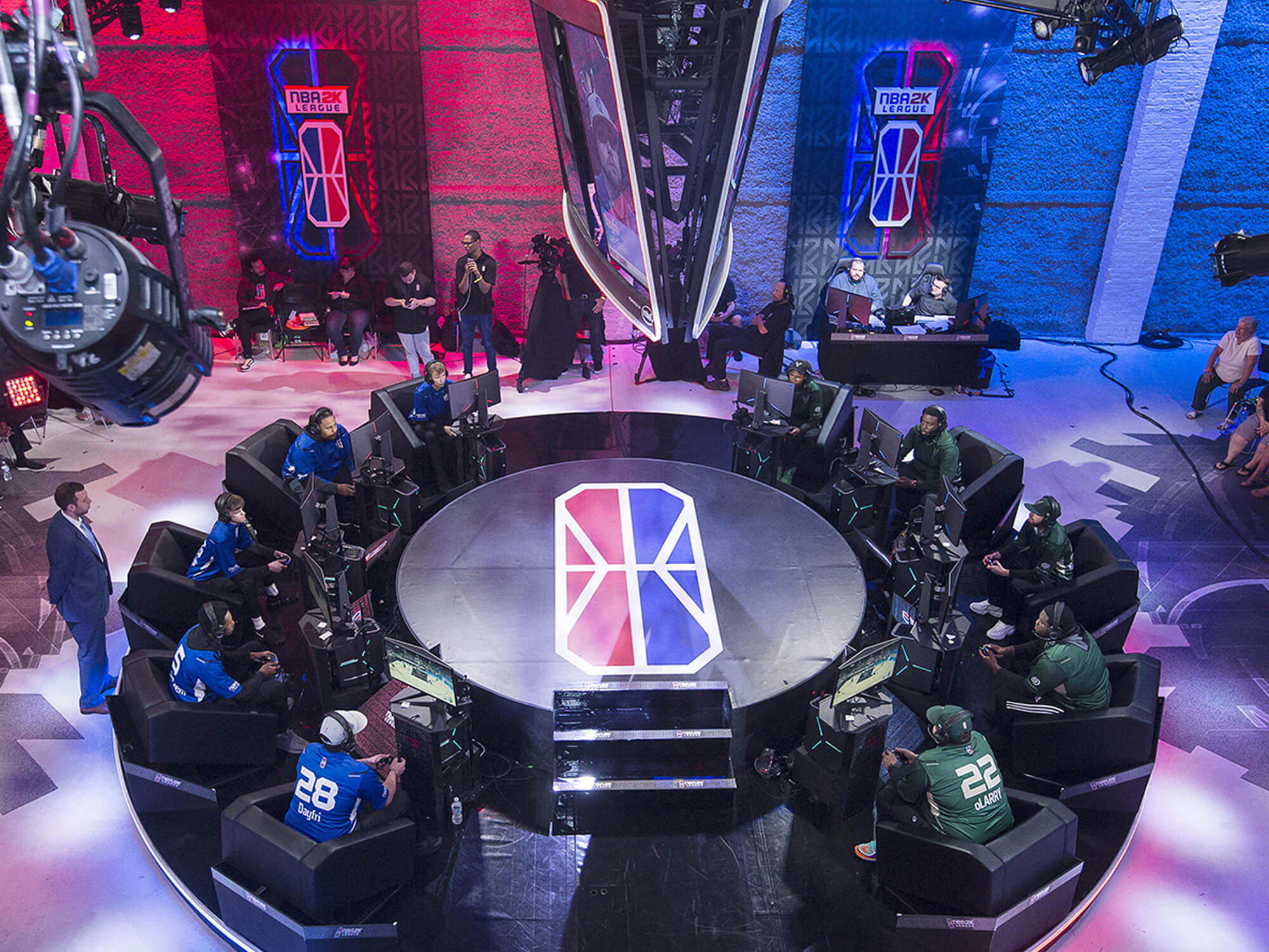As NBA 2K League's First Season Closes Out, Studio and Production Workflows Continue To Evolve - Sports Video Group