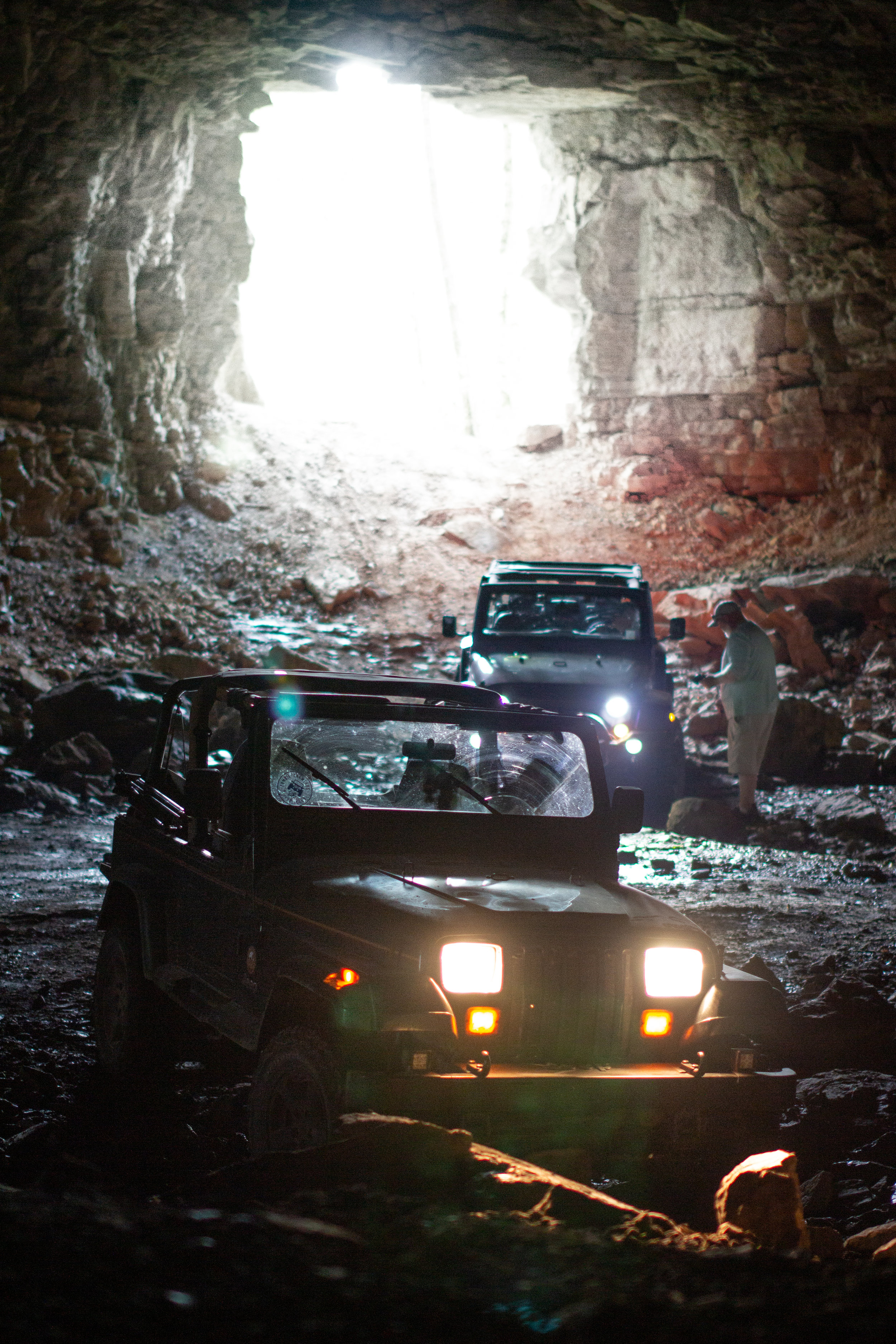 Turning fun into education! - this trip was exciting and fun, a slight mechanical mishap turned into educational excitement , teaching new Jeepers how to winch safely ! turning a little embarrassment into something VERY positive for others.. We're glad slight mishaps sometimes occur!