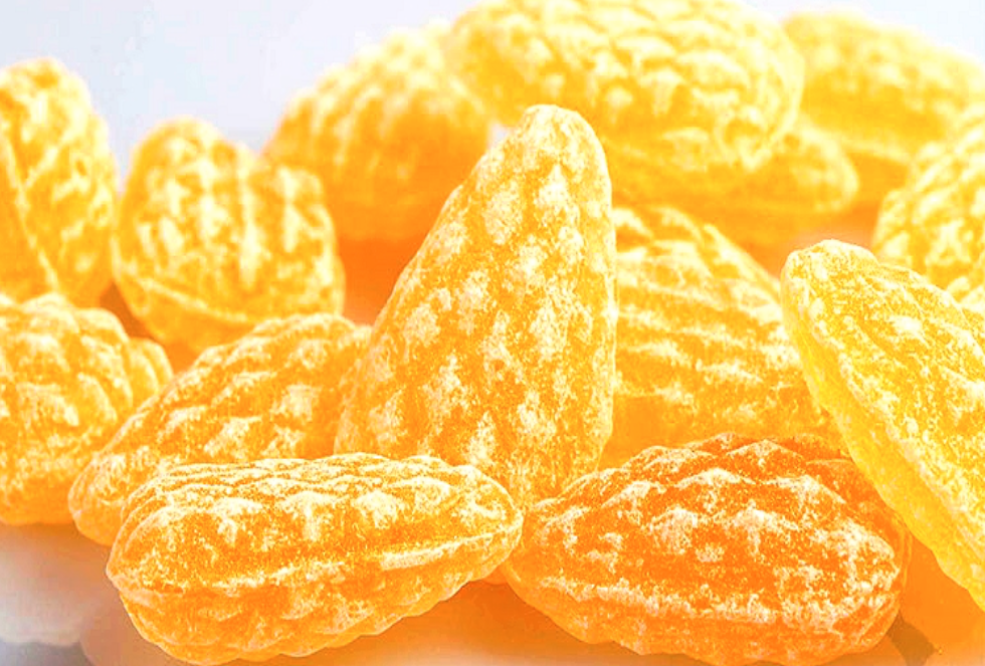 Sève de Pin - Traditionally this candy has long been used for its healing properties. It compose of cooked sugar, pine or fir extract and often also the candy maker deposit in the recipe some honey.