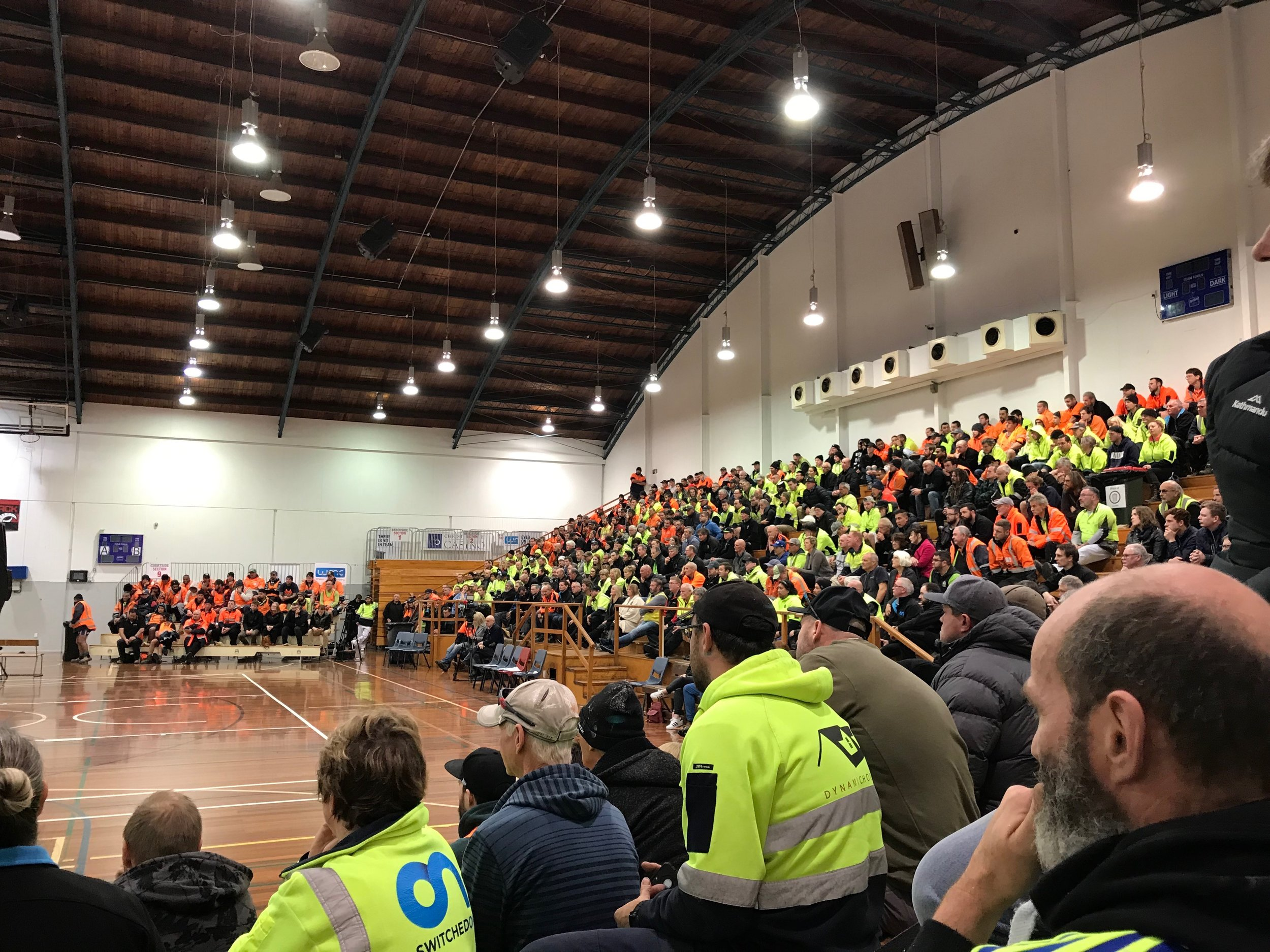 600 tradespeople turned out to hear from mental health advocate Mike King at Switched On Group's industry education event.