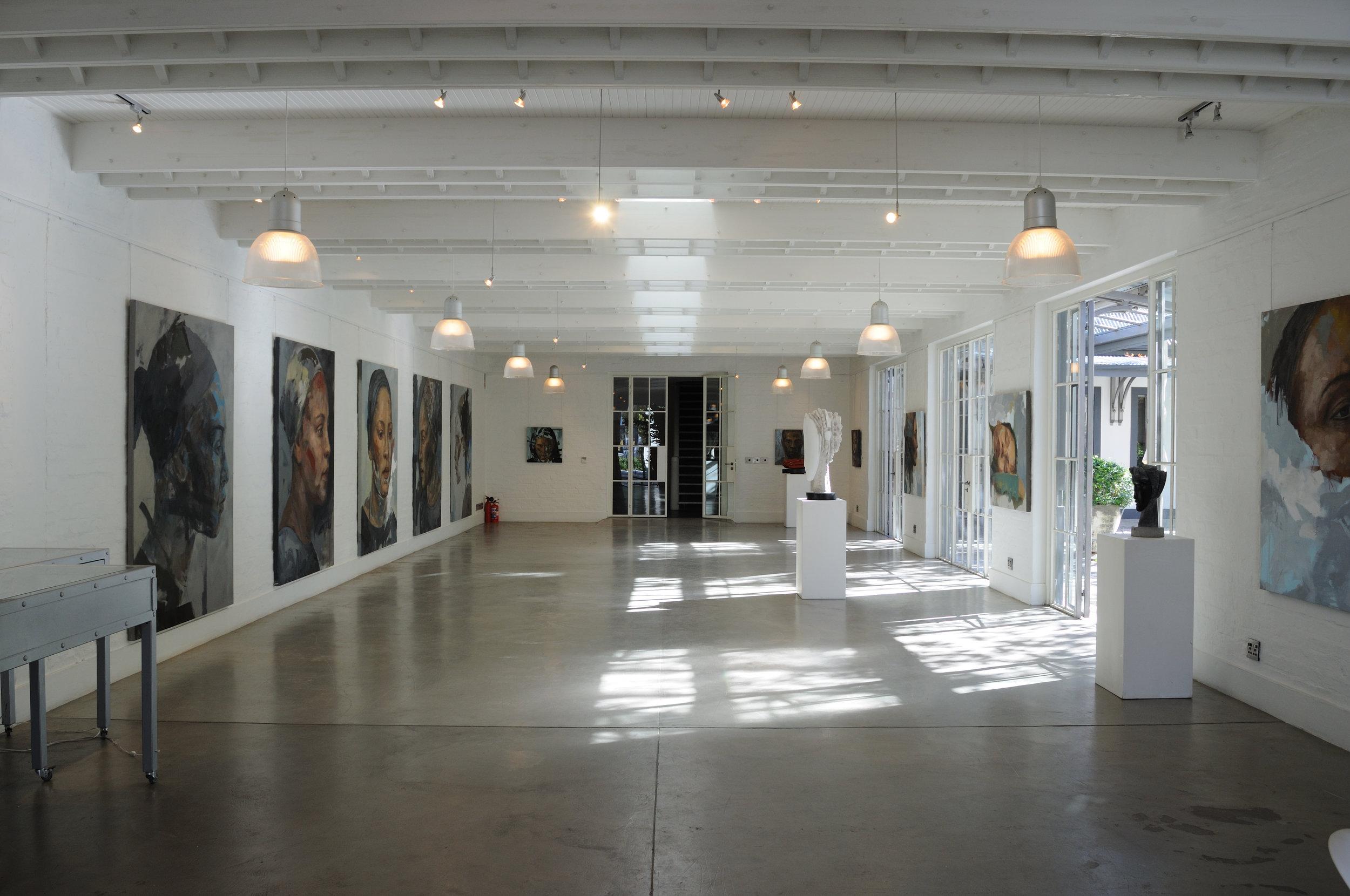 Residue - Solo Exhibition, Grande Provence, Franschhoek, 2009