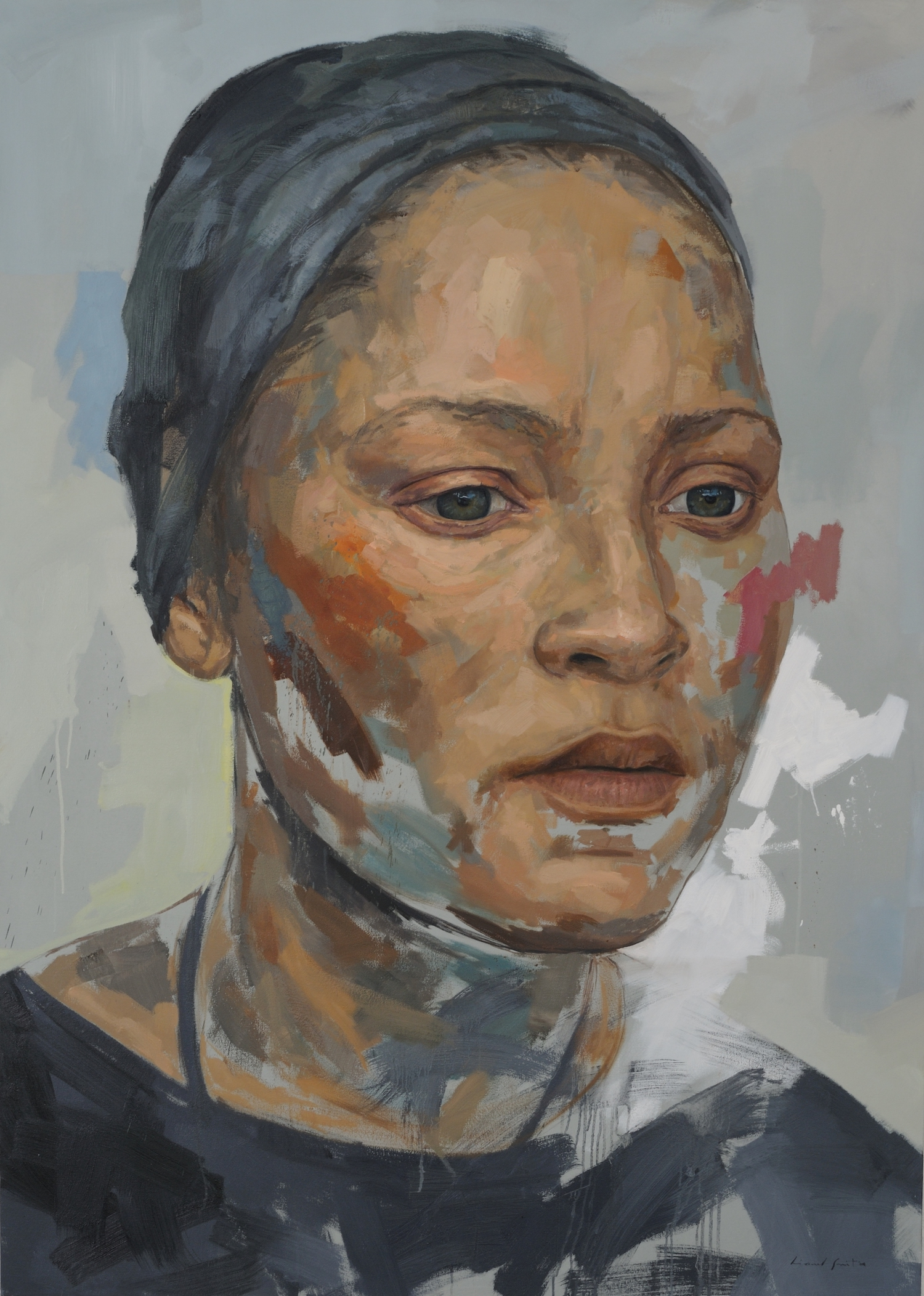 Residue series 3, 2009, Oil on Canvas, 2300mm X 1650mm