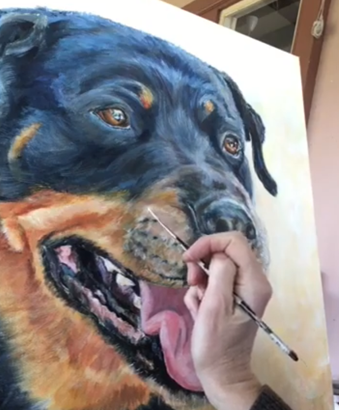 How does it work? - Start by filling in the Booking Form and tell me all about your pet.I will get back to you soon and we can chat about creating a beautiful treasured keep sake of your furry pal. Then we can begin the process of planning your portrait.