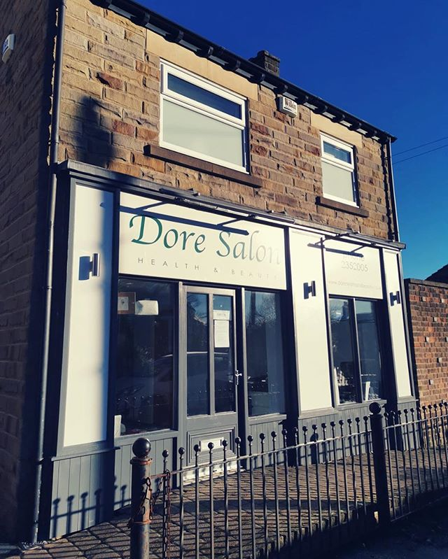 Beautiful winter sun ☀️ ❄️ #dore #doresalon #sheffield