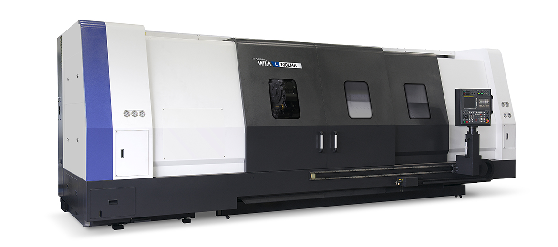 Hyundai L700LMA Large Heavy Duty Turning Center