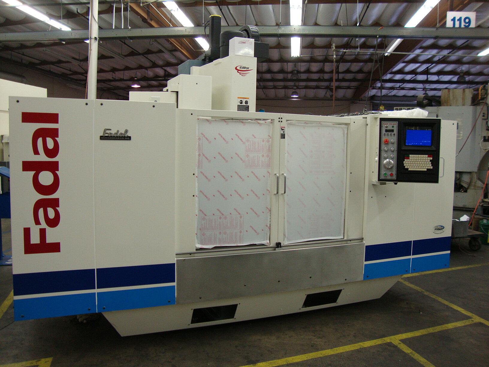CNC Router Fadal Machine