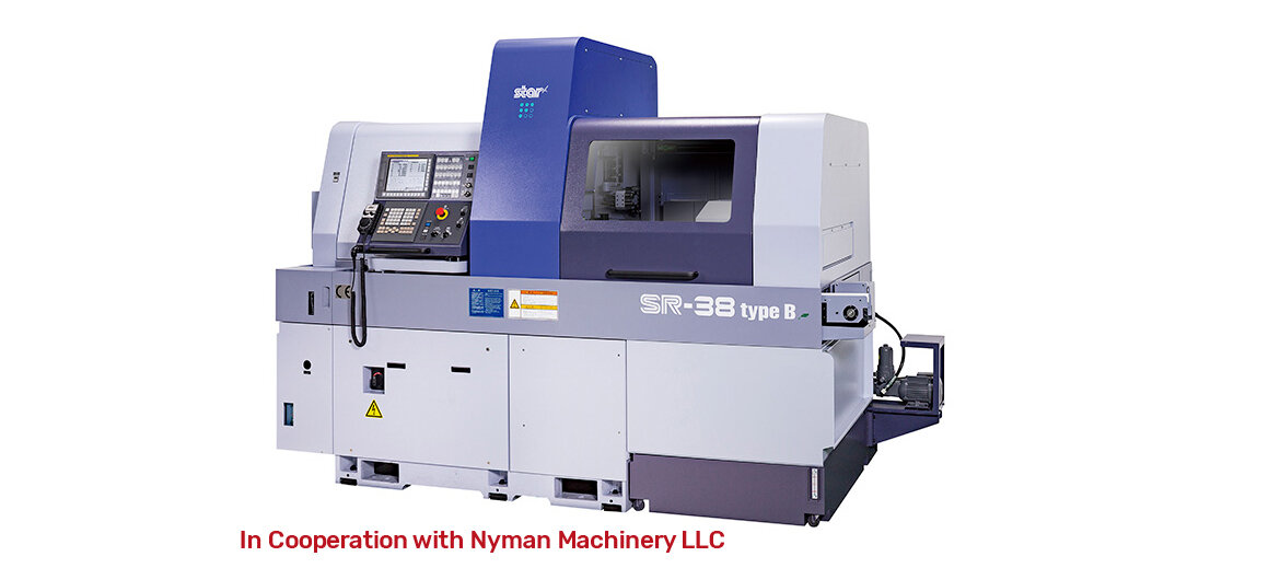 SR-38typeB  In Cooperation with Nyman Machinery LLC