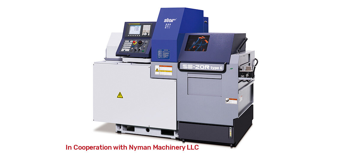 SB20RG  In Cooperation with Nyman Machinery LLC