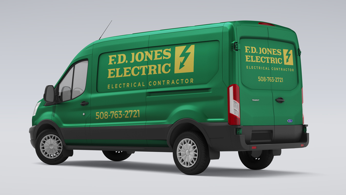 FD Jones Electric  | Branding