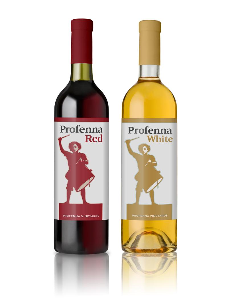 Profenna Vineyards  | Packaging Design