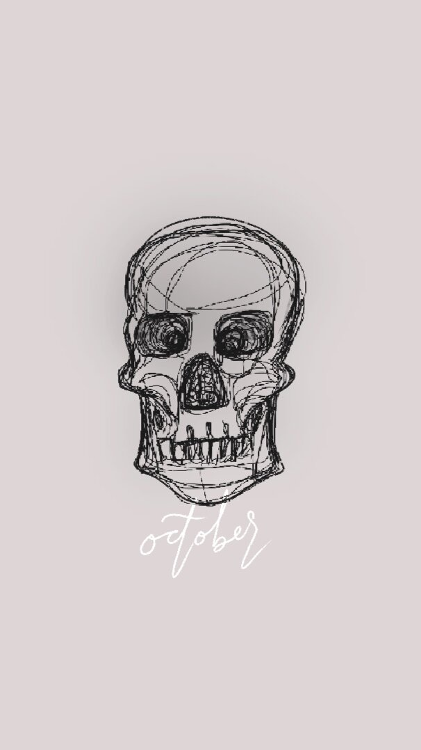 skull+sketch