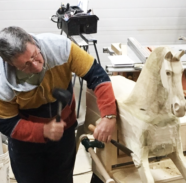 See how the Rocking Horses are handcrafted. -