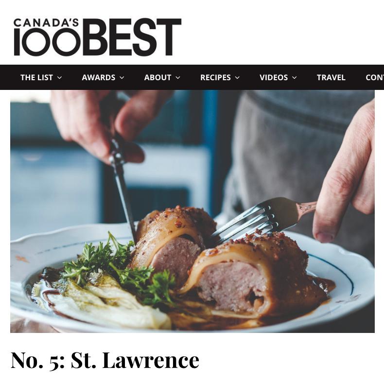 Canada's 100 Best 2019 – #5