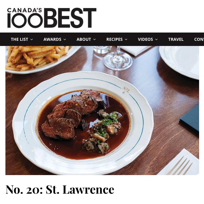 Canada's 100 Best 2018 – #20