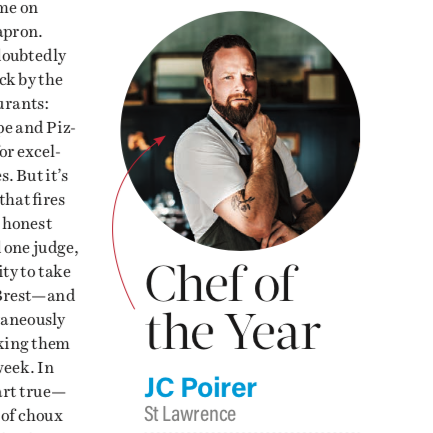 Chef of the Year 2019   Vancouver Magazine