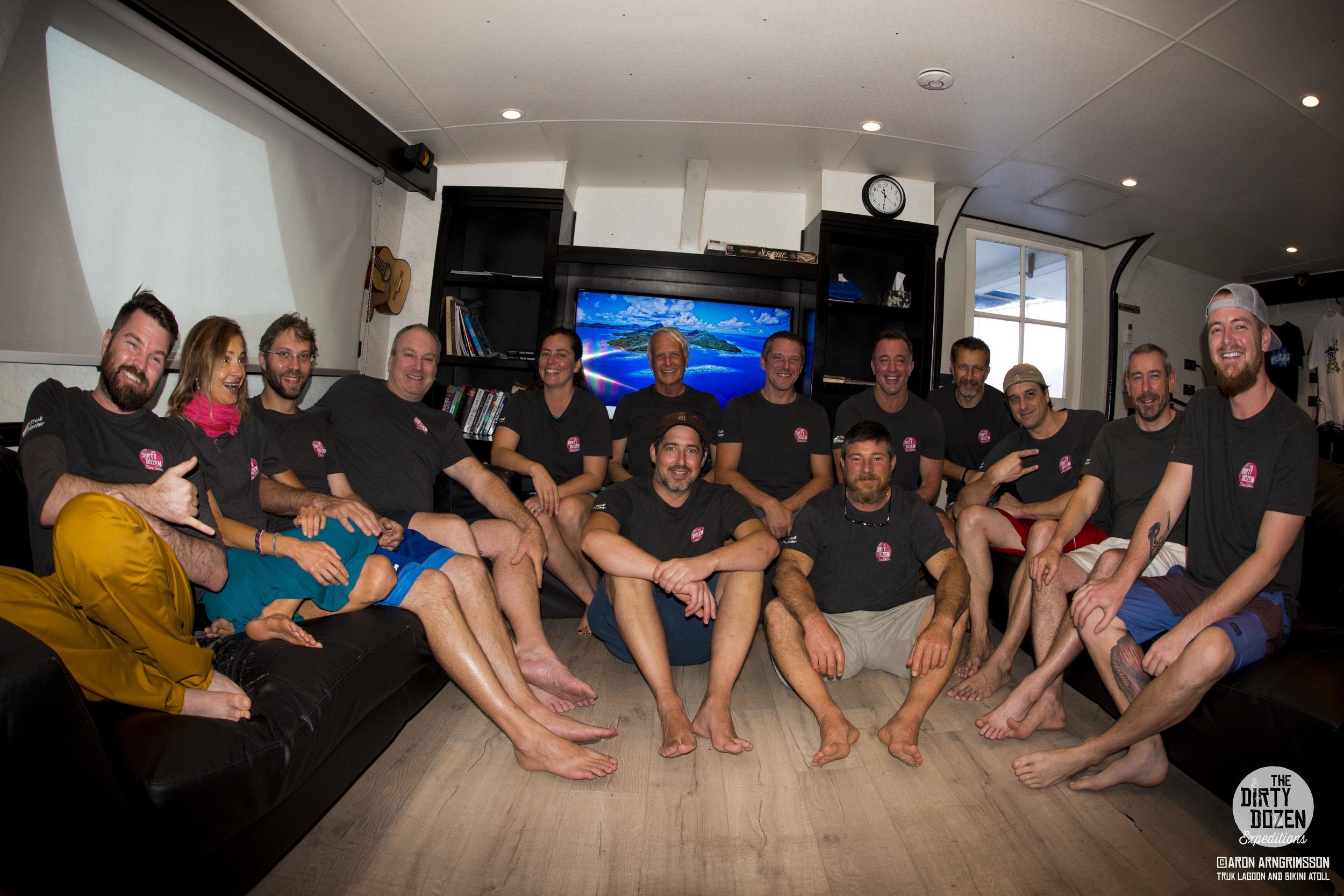 WRECK JUNKIES UNITE! - Dirty Dozen trips foster a close-knit family atmosphere between passionate wreck junkies and distinguished guest divers who conduct onboard workshops and fascinating evening lectures.