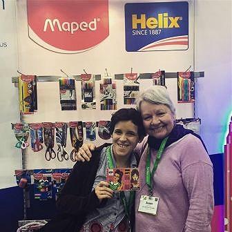 Erica and Susan at NAMTA