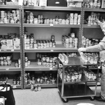 "Windsor Severance Food Pantry and community meal - ""For I was hungry and you gave me something to eat; I was thirsty and you gave me something to drink. I was a stranger and you welcomed me in."" (Matthew 25:35)"