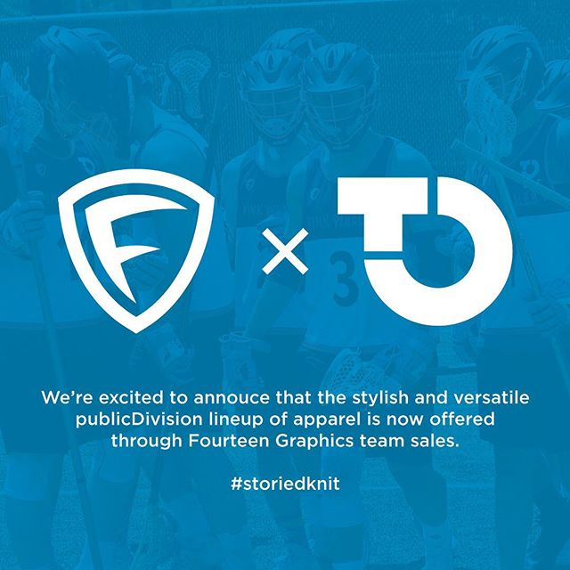 Excited to bring publicDIVISION to more men's lacrosse teams across the globe.  We have a shared vision to deliver American made products that change the game.  publicDIVISON grew from a love of lacrosse and our favorite lacrosse shorts.  We set out to design a short that provided the technical specifications and durability for the most demanding lacrosse players, with the function and style to keep you wearing them beyond the field.  Lacrosse shorts, leisure shorts, life shorts… #storiedknit