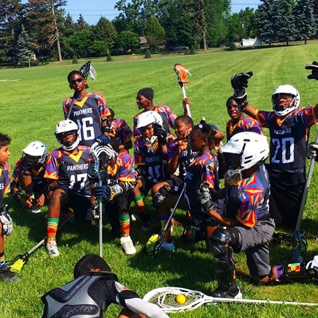 The winner of our lacrosse jersey contest from earlier this year! These guys look pumped to be wearing some fresh new uniforms. Congrats and enjoy! #lacrosse #contest #design #givingback