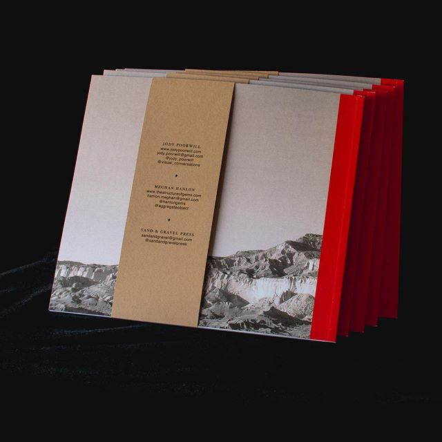 Sand & Gravel Press has a second release coming out in July. DISCOVER/Y is a collaboration with @hanlongems (Meghan Hanlon) and @jody_poorwill (Jody Poorwill). All the photographs in DISCOVER/Y were taken in New Mexico in November 2018. Book orders will be opening up soon.