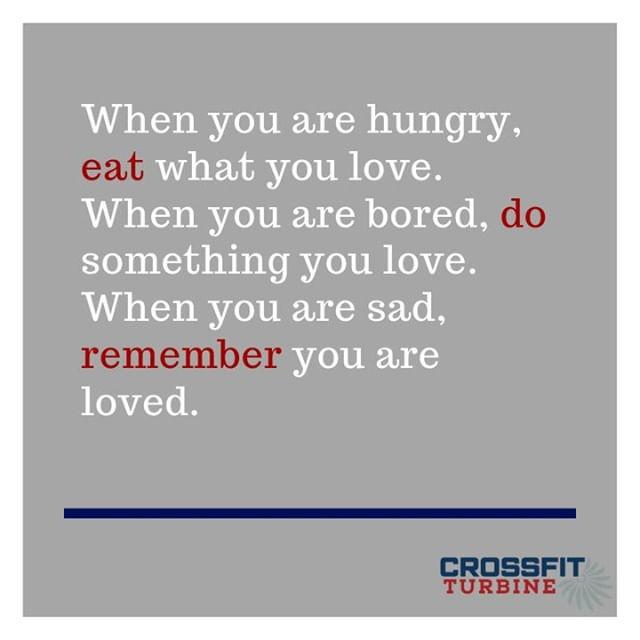 Happy Friday Turbs!!!  ❤️💛💚💙💜  #crossfitturbine #mindset #mindful #healthyhabits