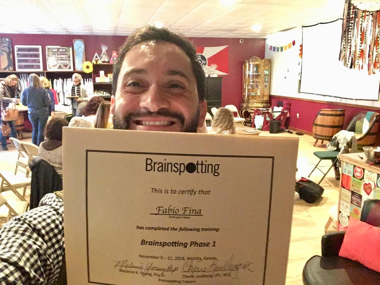 Phase 1 Certification in Wichita, KS, November 2018