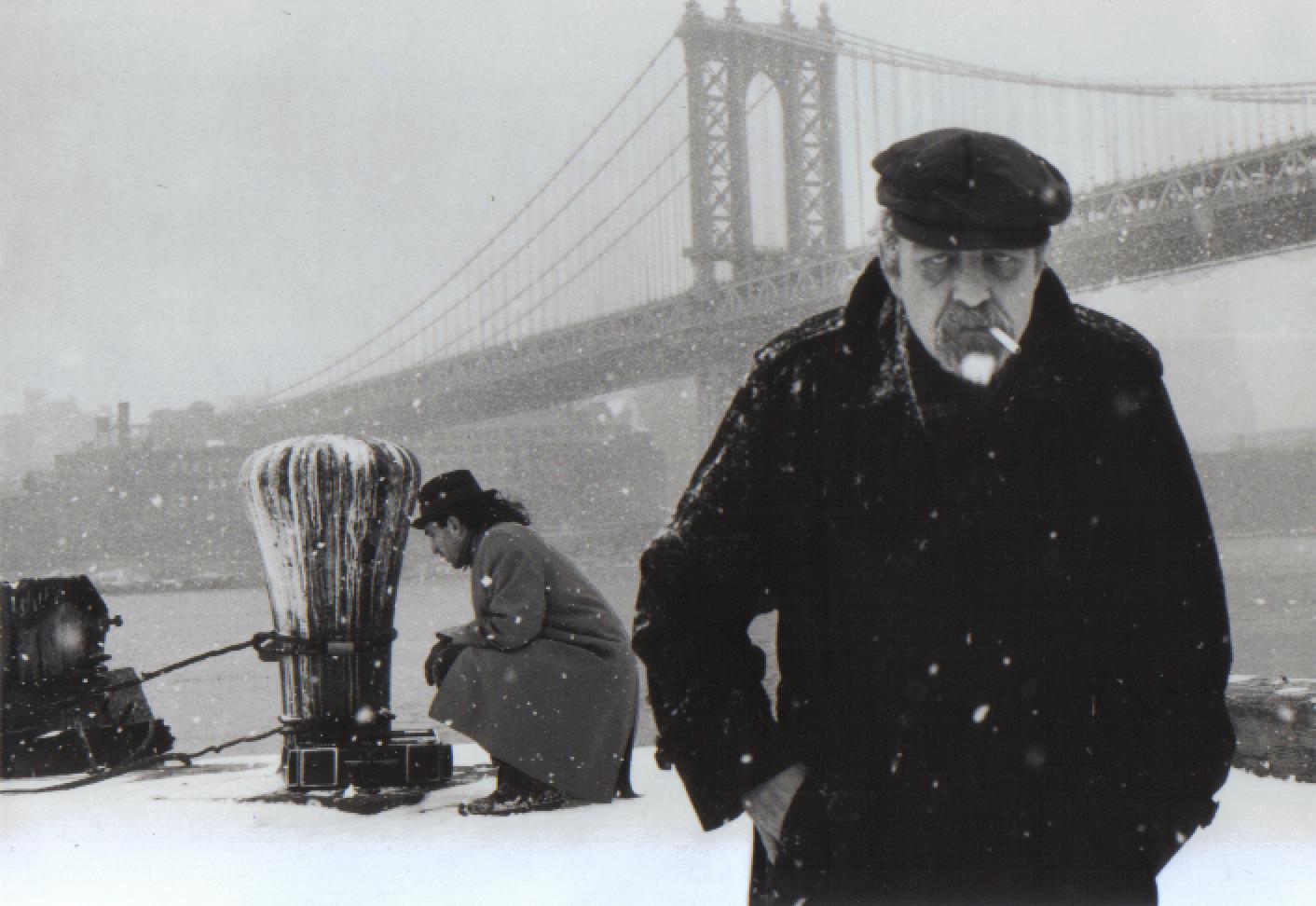 Alan Granville worships at the alter of the Manhattan Bridge, to a disco beat. Featuring Robert Attanasio.