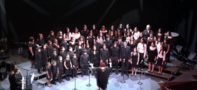 Conducting an Honor Choir in Tegucigalpa, Honduras