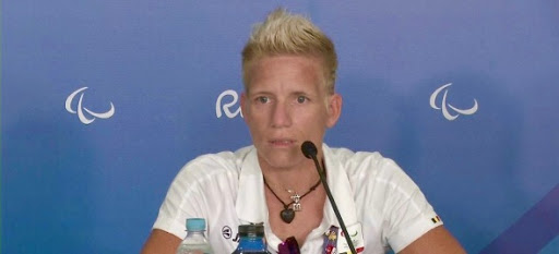 Rio, 2016 at the Paralympic Games: Marieke wins silver and bronze. At a widely-covered press conference, she gives an impassioned public statement that all nations should allow their citizens the right to choose how to die. She becomes a new heroine of the right-to-die movement and suddenly is known around the world.
