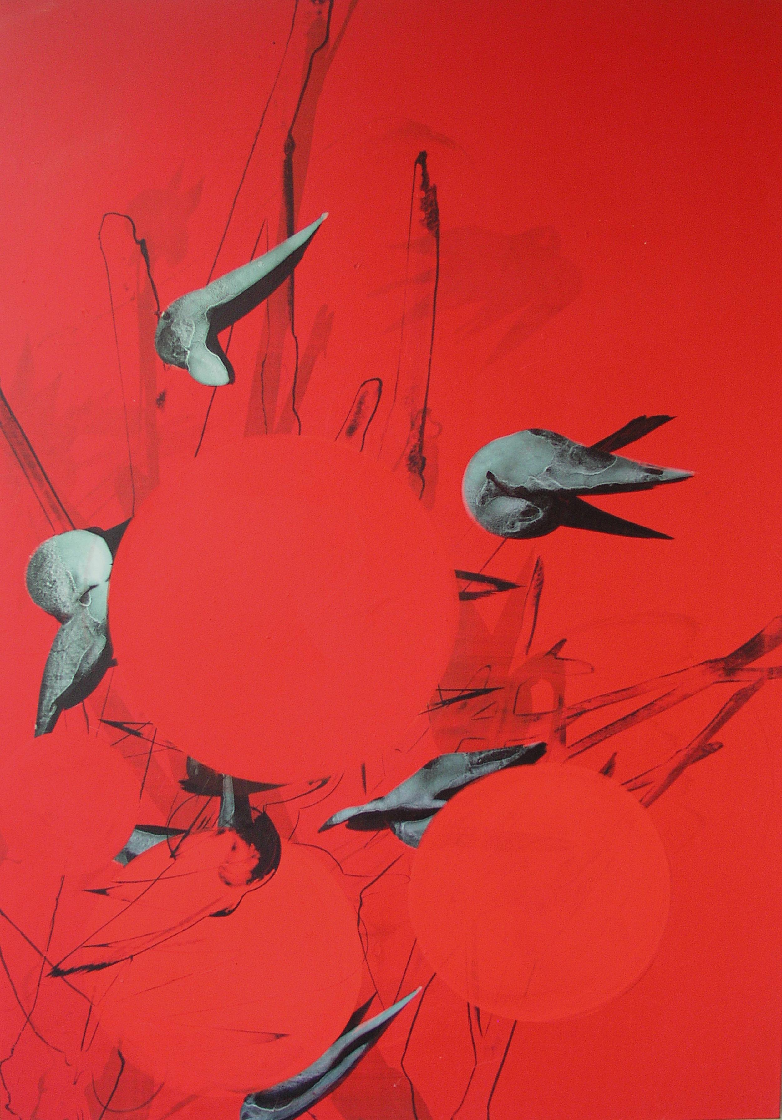 SoHyun Bae, PB Geometry, 2007, acrylic on canvas, 100 x 70 cm