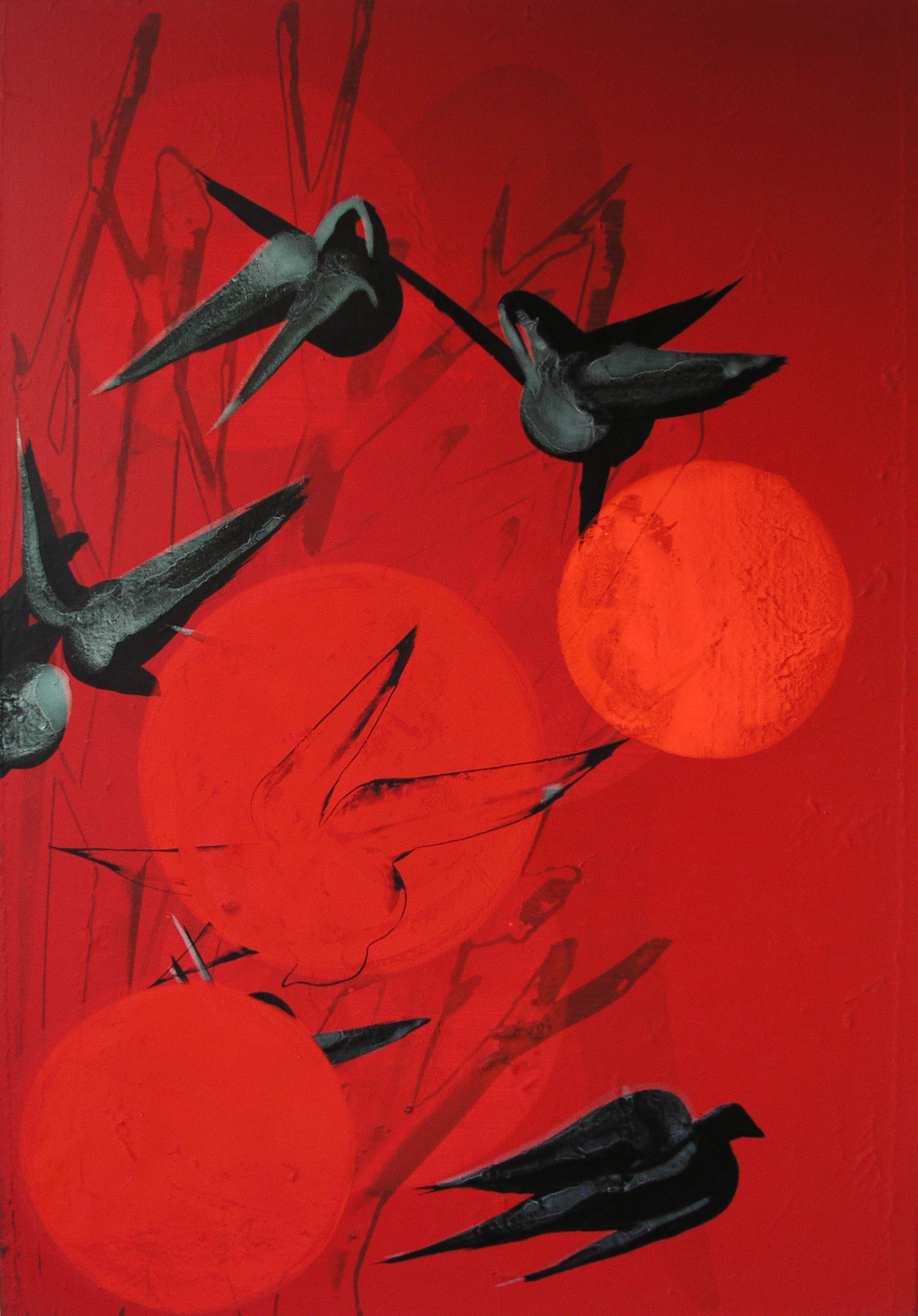 SoHyun Bae, Evening, 2007, acrylic on canvas, 100 x 70 cm