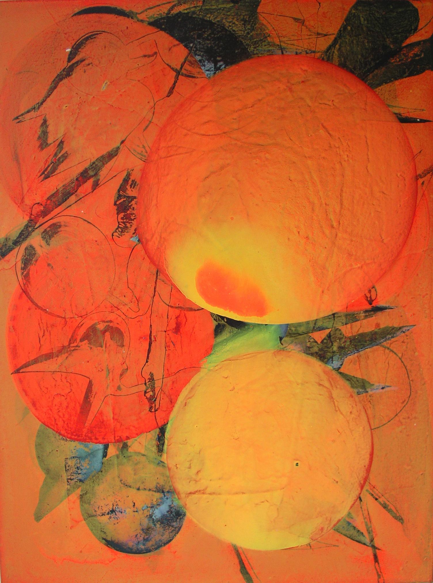 SoHyun Bae, Luscious Fruit, 2008, acrylic on canvas, 100 x 70 cm