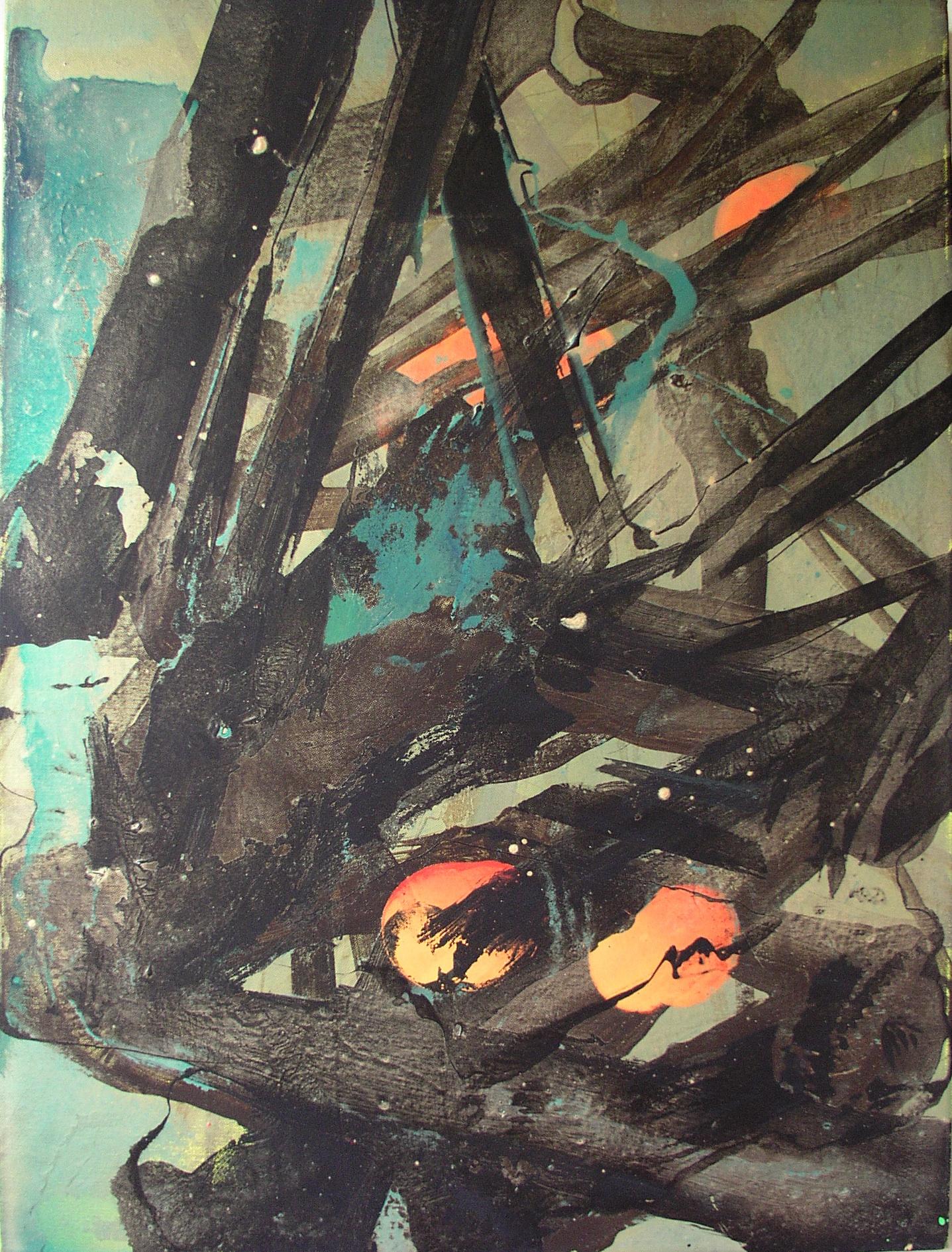 SoHyun Bae, La Quercia, 2008, acrylic on canvas, 80 x 60 cm