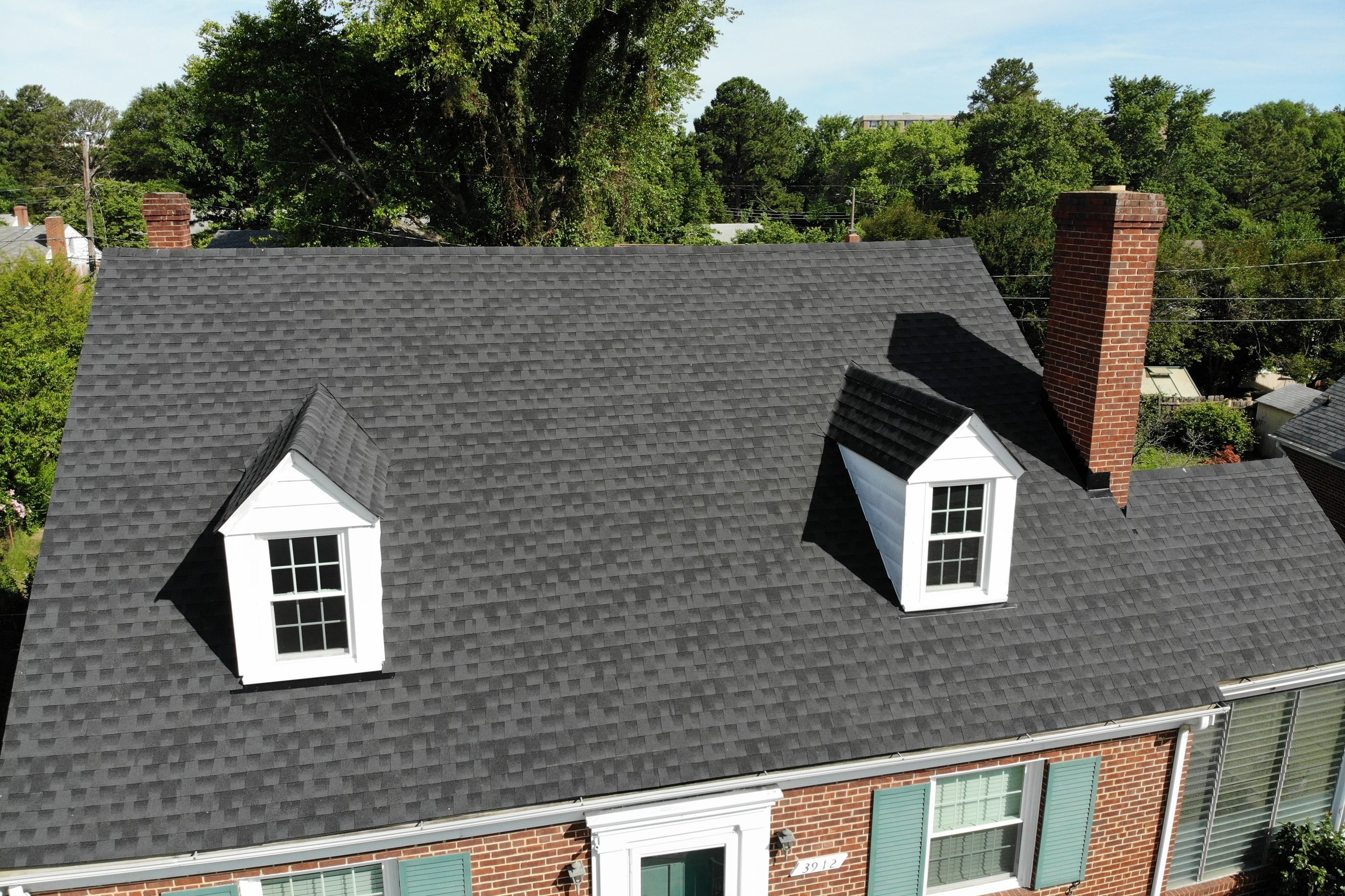 New Roof Installation -