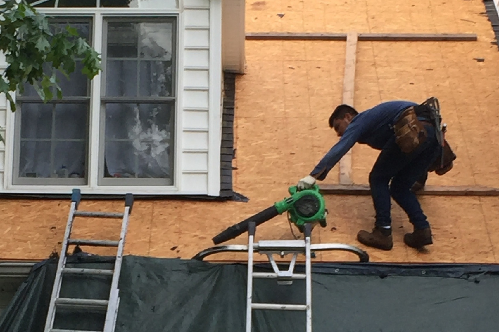 Roof Repair / Storm Damage Remediation -