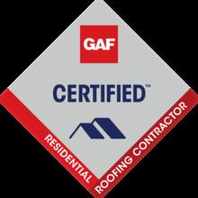 GAF Certified Installer