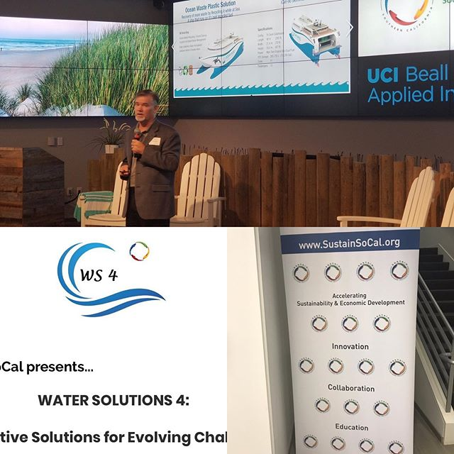 Presented at the @sustainsocal Water Solutions 4 Conference. #oceansunited #solutions #oceans #innovation #sustainability