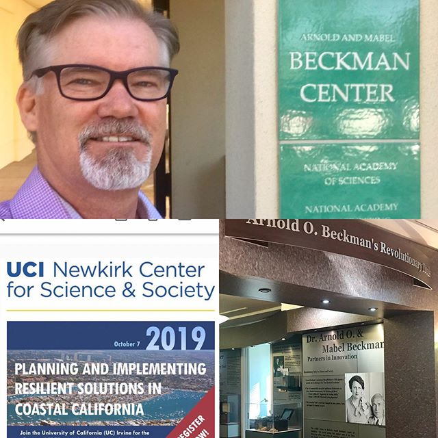 @officialoceansunited is attending @universityofirvine hosted conference at the @thebeckmancenter
