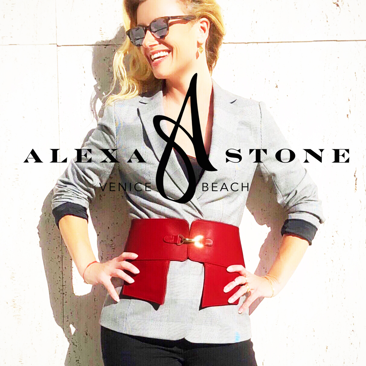 Alexa Stone Pocketed Belts