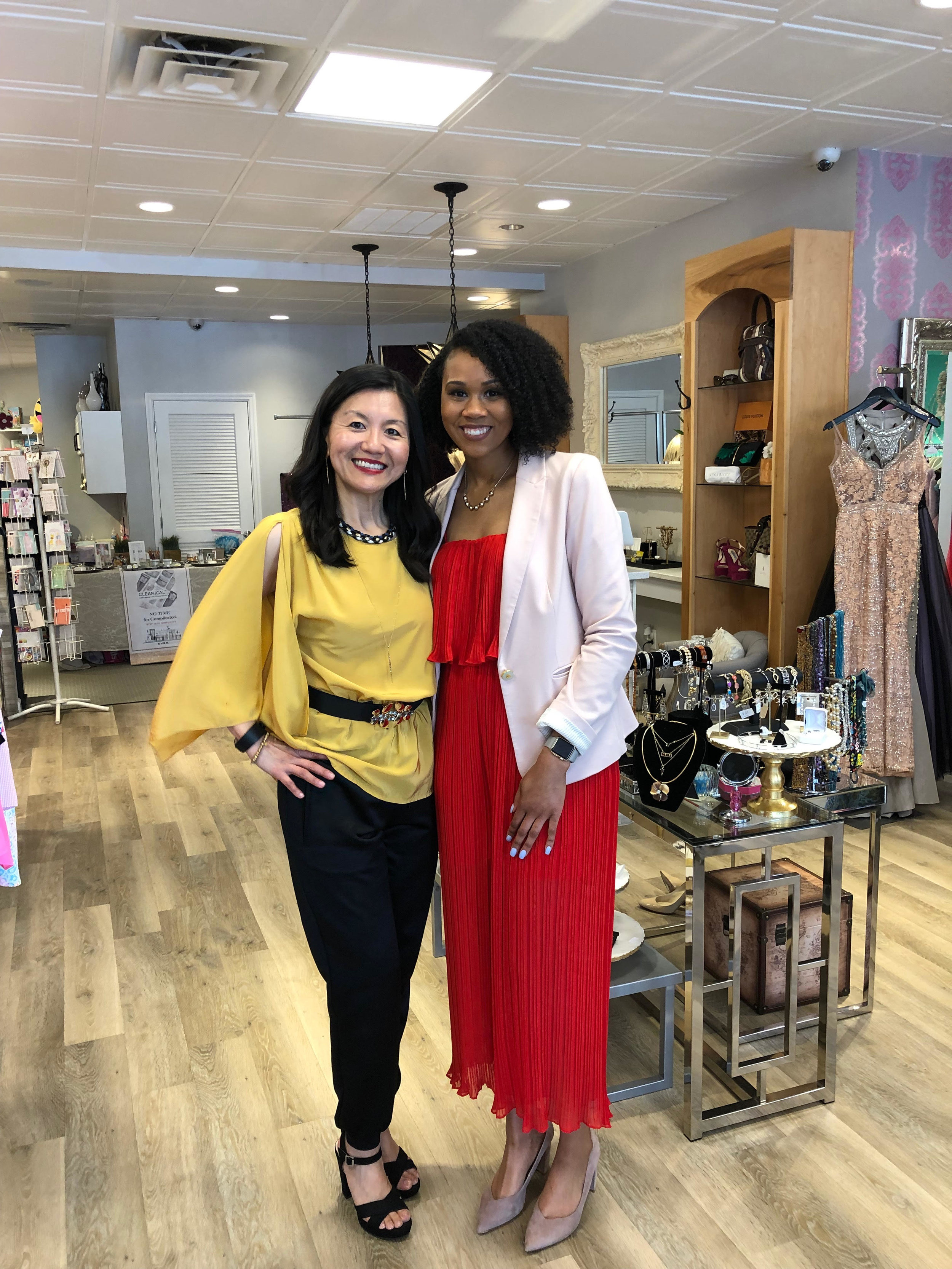 Sips, Skincare, & Styling at Your World Luxury Consignment Boutique with Ever Skincare Rep, Alice Lin
