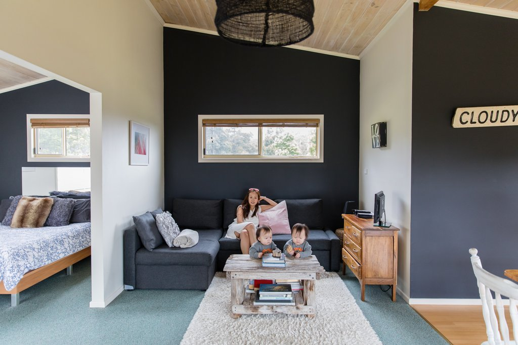 Checked into our Bruny Island escape pod at Hundred Acre Hideaway!