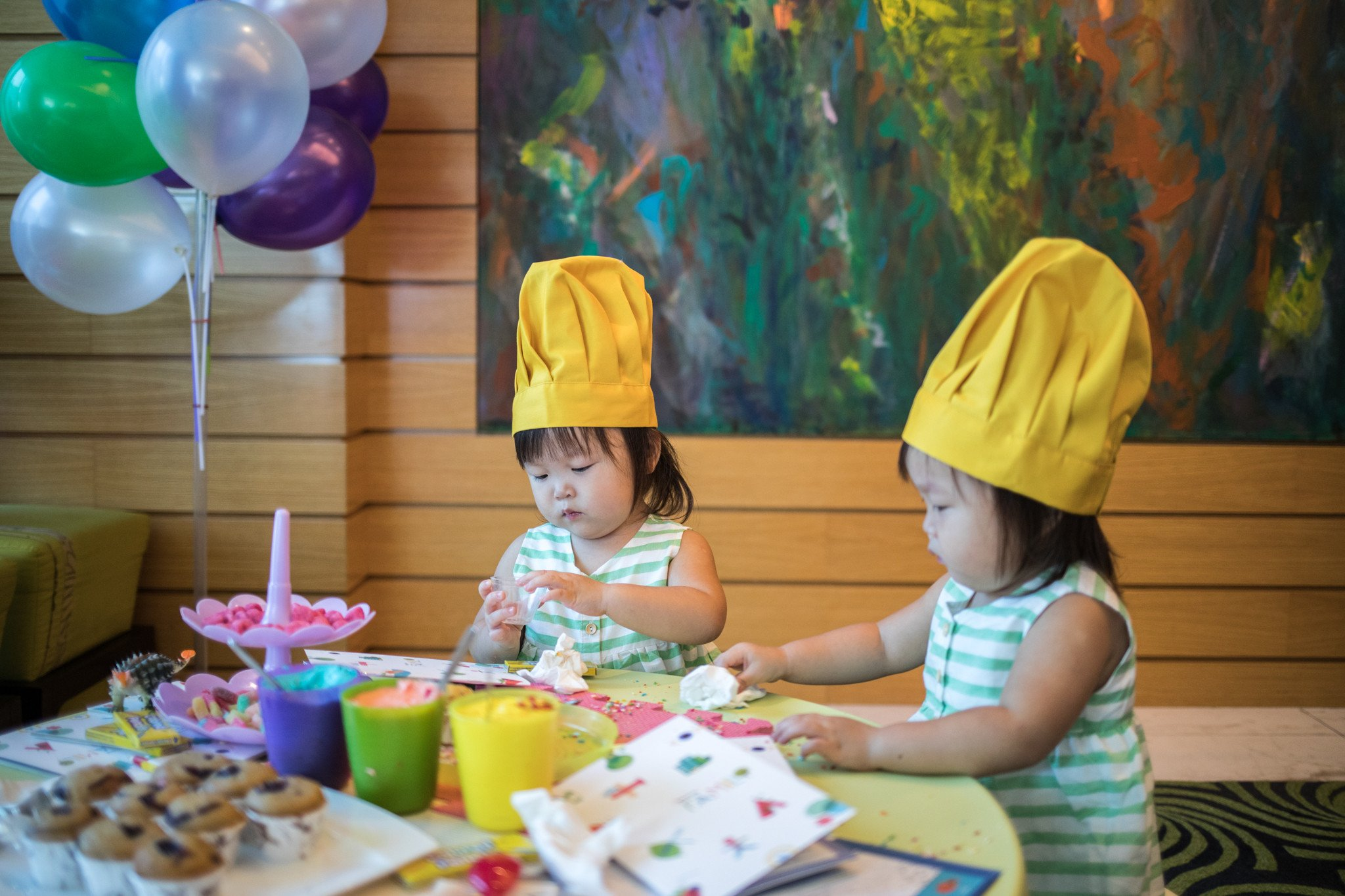 And brunch at The Seasonal Tastes with a delish international buffet spread! What's more, there is a dedicated children's corner with activities such as cupcake decorating, colouring and a customised buffet spread for the kids. Perfect for parents who want to steal some time-off to enjoy brunch while the kids are at play.