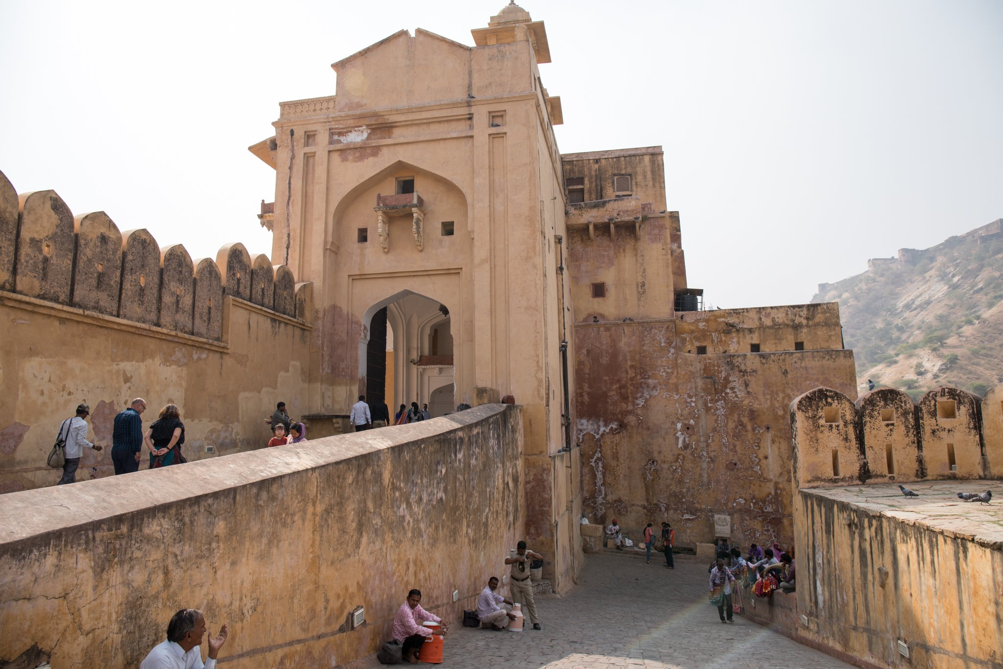 Amber Fort Exit