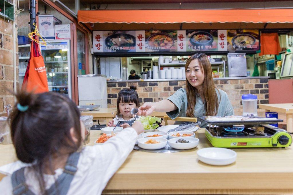 Dinner at  Four Seasons Chicken Hanbang Restaurant