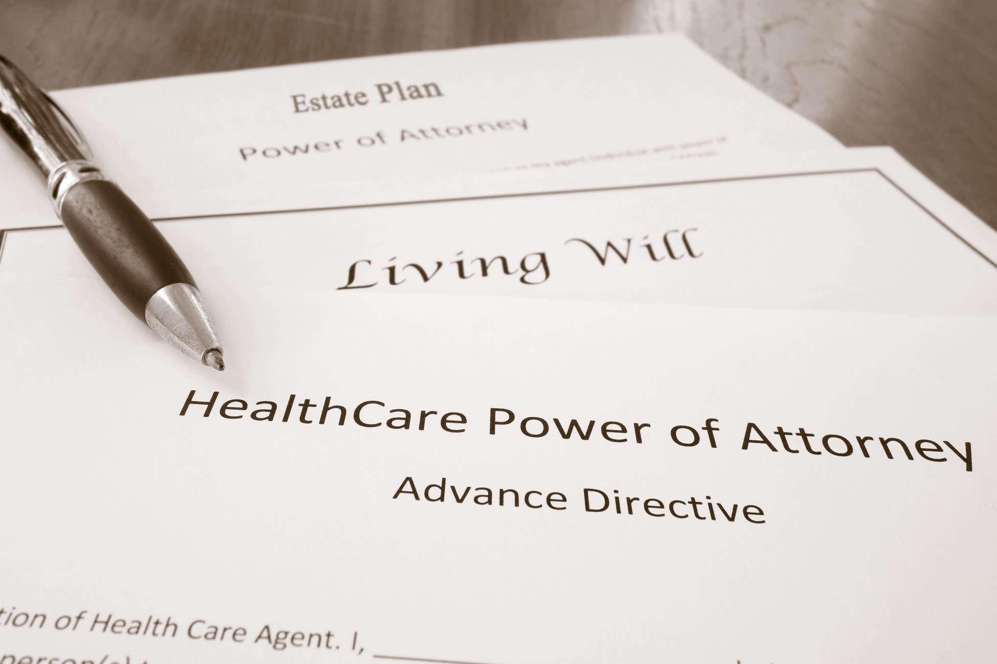 advance directives - Be prepared for serious illness or incapacity with an up-to-date set of advance directives, including a durable power of attorney, healthcare surrogate designation, and living will.