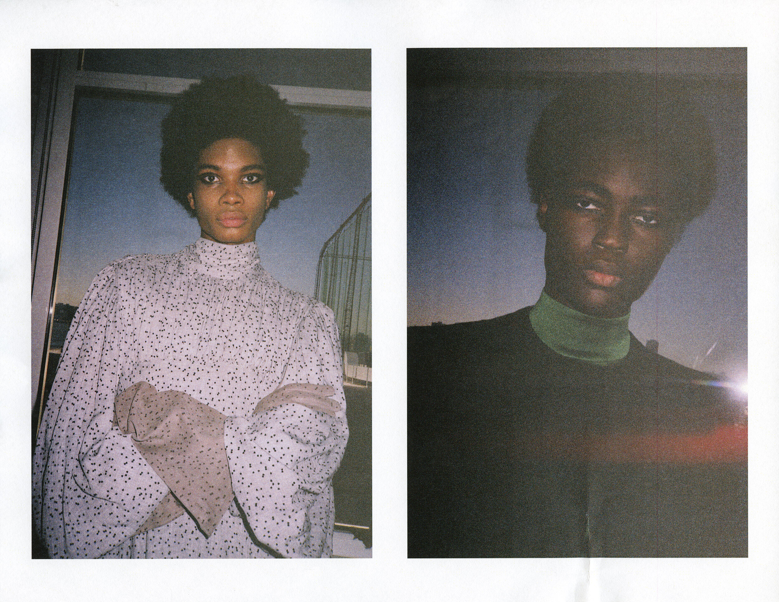 Backstage at Palomo FW19 for  Gayletter,  2019