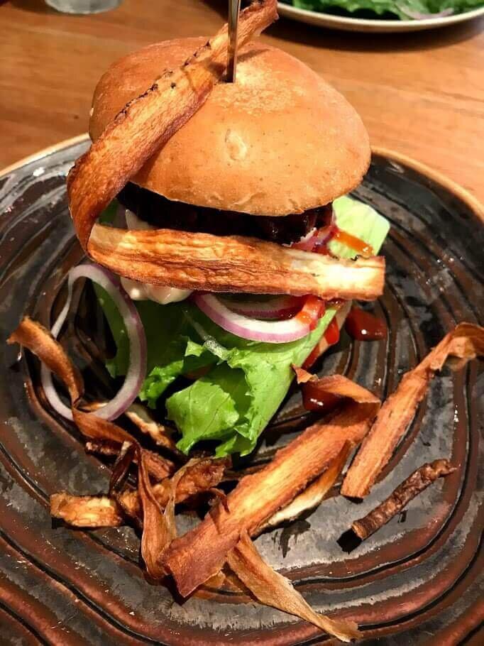 Vegan Burger - Mr. Farmer