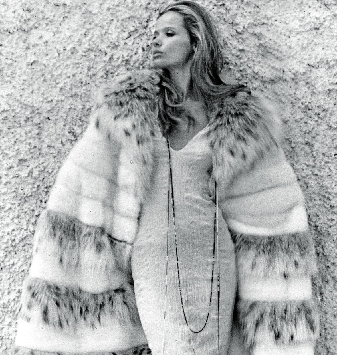 Verushka, leggendaria Top Model degli anni 80, sarà la prima testimonial del Brand -